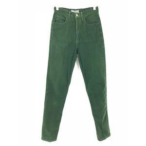 VTG 80's Guess Tapered Leg High Waist Jeans Sz 25